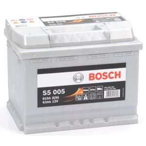 S5 005 Bosch Car Battery 12V 63Ah Type 027 S5005