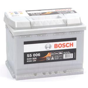 S5 006 Bosch Car Battery 12V 63Ah Type 078 S5006