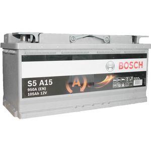 S5 A15 Bosch AGM Car Battery 12V 105Ah Type 020 S5A15