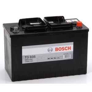 T3 035 Bosch Truck Battery 12V 110Ah Type 663 T3035