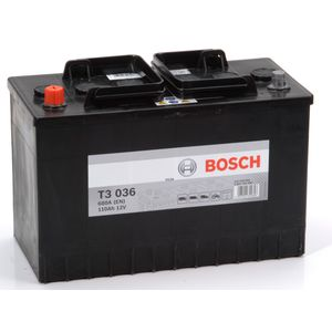 T3 036 Bosch Truck Battery 12V 110Ah Type 664 T3036