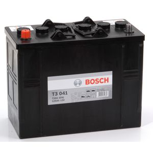 T3 041 Bosch Truck Battery 12V 125Ah Type 656 T3041