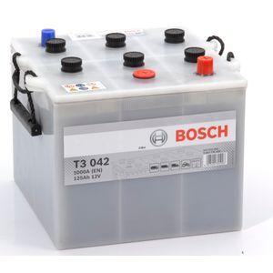 T3 042 Bosch Truck Battery 12V 125Ah Type 6TN T3042