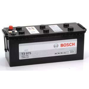T3 075 Bosch Truck Battery 12V 120Ah Type 627 T3075