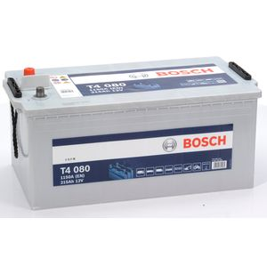 T4 080 Bosch Truck Battery 12V 215Ah Type 625HD T4080