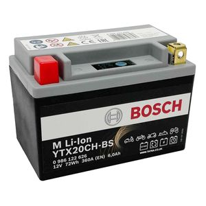 LTX20CH-BS Bosch Lithium Bike Battery 12V YTX20CH-BS