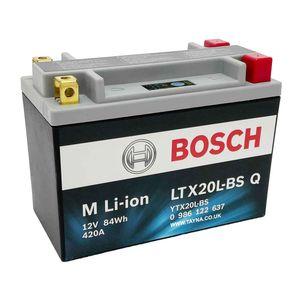 LTX20L-BS Q Bosch Lithium Bike Battery 12V