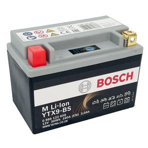 LTX9-BS Bosch Lithium Bike Battery 12V
