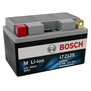 LTZ12S Bosch Lithium Bike Battery 12V