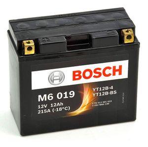 M6019 Bosch Bike Battery 12V YT12B-4