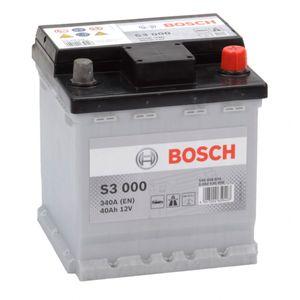 S3 000 Bosch Car Battery 12V 40Ah Type 002L S3000