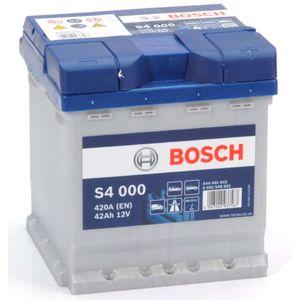S4 000 Bosch Car Battery 12V 42Ah Type 202 S4000