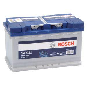 S4 011 Bosch Car Battery 12V 80Ah Type 115 S4011