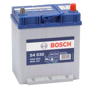 S4 030 Bosch Car Battery 12V 40Ah Type 054H S4030