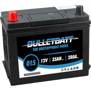 015 BulletBatt Car Battery 12V