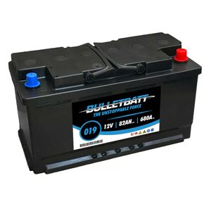 019 BulletBatt Car Battery 12V