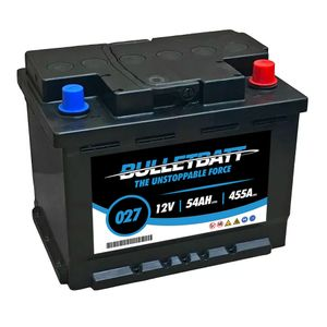 027 BulletBatt Car Battery 12V