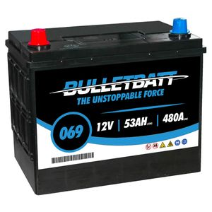 069 BulletBatt Car Battery 12V