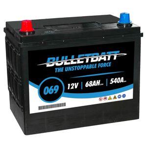 069 BulletBatt Car Battery 12V
