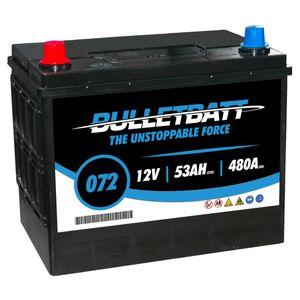 072 BulletBatt Car Battery 12V