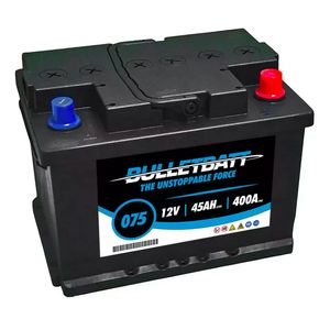 075 BulletBatt Car Battery 12V