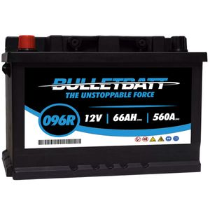 096R BulletBatt Car Battery 12V
