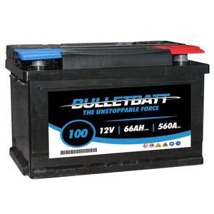 100 BulletBatt Car Battery 12V 66Ah