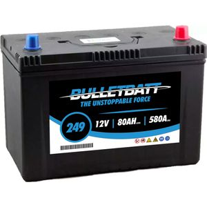 249 BulletBatt Car Battery 12V