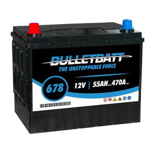 678 BulletBatt Leisure Battery 12V 55Ah