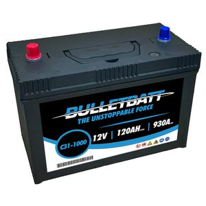 C31-1000 BulletBatt Car Battery 12V 120Ah