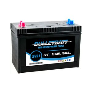 XV31 BulletBatt Leisure Battery 12V 110Ah