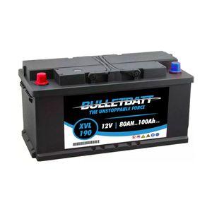 XVL190 BulletBatt Leisure Battery 12V 80Ah