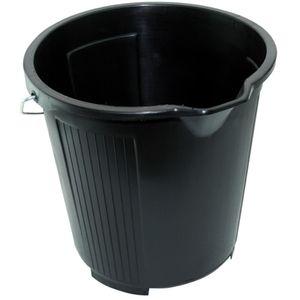 Kent Black Plastic Car Wash Bucket