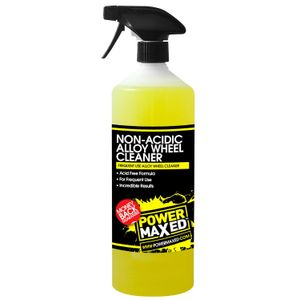 Power Maxed Non-Acidic Alloy Wheel Cleaner 1L