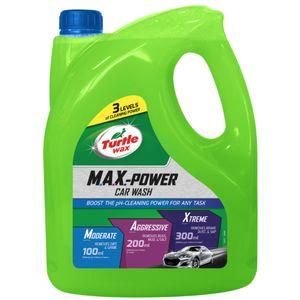 Turtle Wax Max Power Car Wash Shampoo 4 Litre