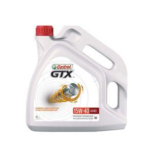 Castrol GTX 15W-40 A3/B3 Oil 4L