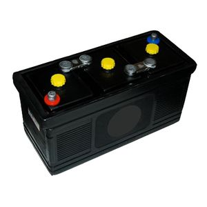 Type 451 Classic Car Hard Rubber Battery 6V 185Ah