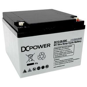 DC12-28-XDC DC Power Xtra Deep Cycle Battery