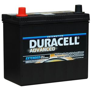 DA45L Duracell Advanced Car Battery 12V 45Ah (049 - DA 45L)
