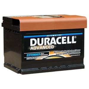 DA60T Duracell Advanced Car Battery 12V 60Ah (065/075 - DA 62)