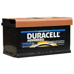 DA80 Duracell Advanced Car Battery 12V 80Ah (110 - DA 80)