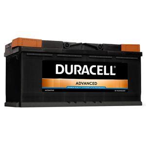 DA100 Duracell Advanced Car Battery 12V 100Ah (019 - DA 100)