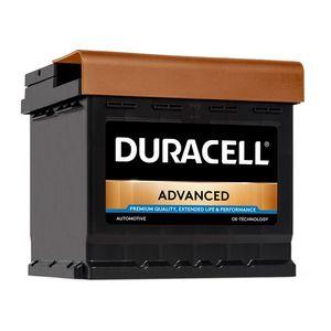 DA50 Duracell Advanced Car Battery 12V 50Ah (012 - DA 50)