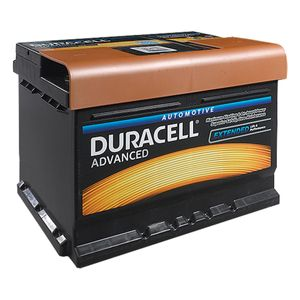 DA62H Duracell Advanced Car Battery 12V 62Ah (027 - DA 62H)