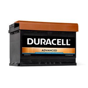 DA72 Duracell Advanced Car Battery 12V 72Ah (100/096 - DA 72)