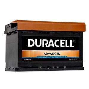 DA74 Duracell Advanced Car Battery 12V 74Ah (096 - DA 74)
