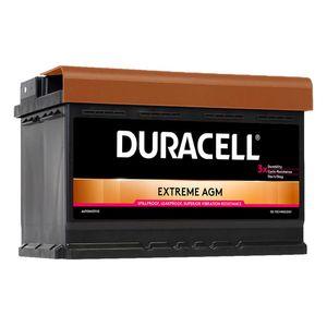 DE70 Duracell Extreme AGM Car Battery 12V 70Ah