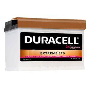DE70 Duracell Extreme EFB Car Battery 12V 70Ah