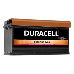 DE92 Duracell Extreme AGM Car Battery 12V 92Ah