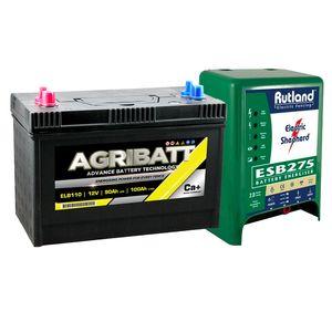 Rutland ESB275 Energiser and Agribatt 100Ah Battery Kit